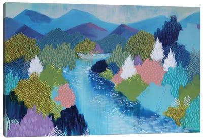 Summer Hills Canvas Art Print