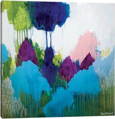 Where The Wattle Grows Canvas Art Print