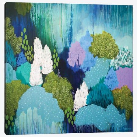 Winter Solstice Canvas Print #BRE32} by Clair Bremner Canvas Art Print