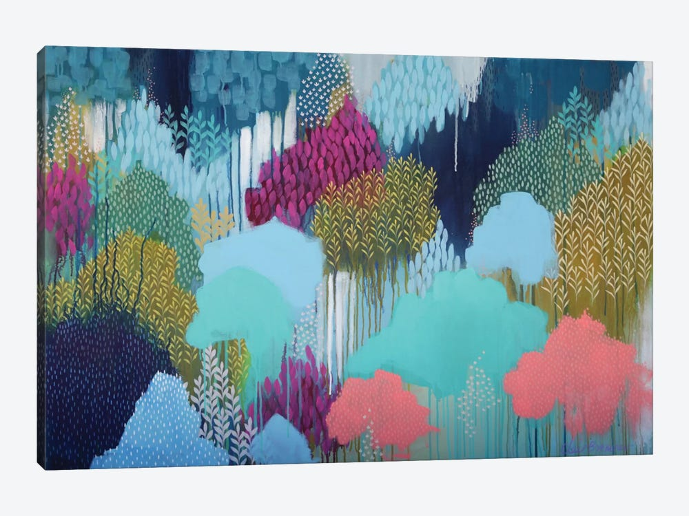 You Cannot Get Beyond by Clair Bremner 1-piece Canvas Artwork