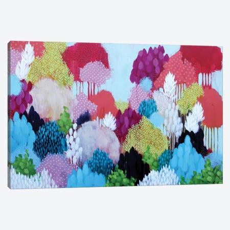 Autumn Begins Canvas Print #BRE35} by Clair Bremner Canvas Artwork