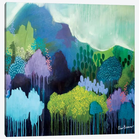 Below My Feet Canvas Print #BRE3} by Clair Bremner Canvas Art Print