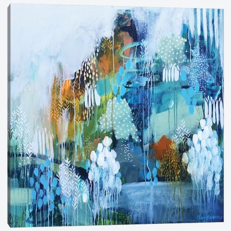 The Always And Changing Light Canvas Print #BRE47} by Clair Bremner Art Print