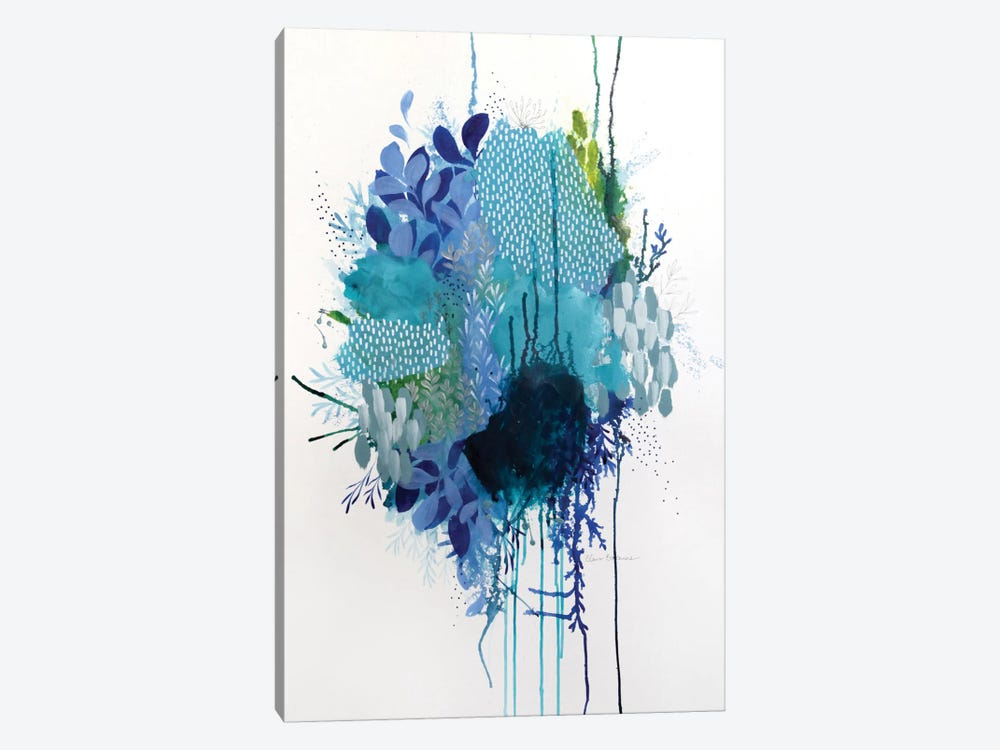 Floral Study II by Clair Bremner 1-piece Canvas Art Print