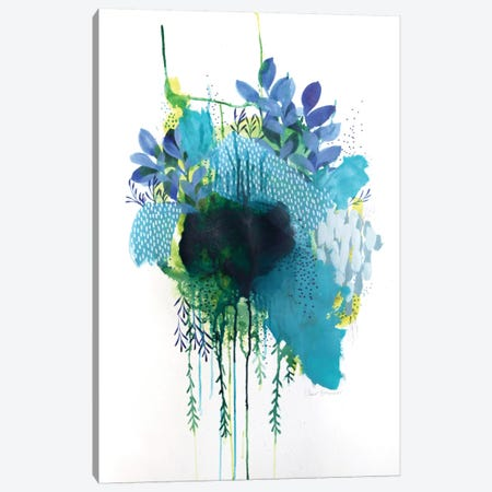 Floral Study III Canvas Print #BRE6} by Clair Bremner Canvas Art