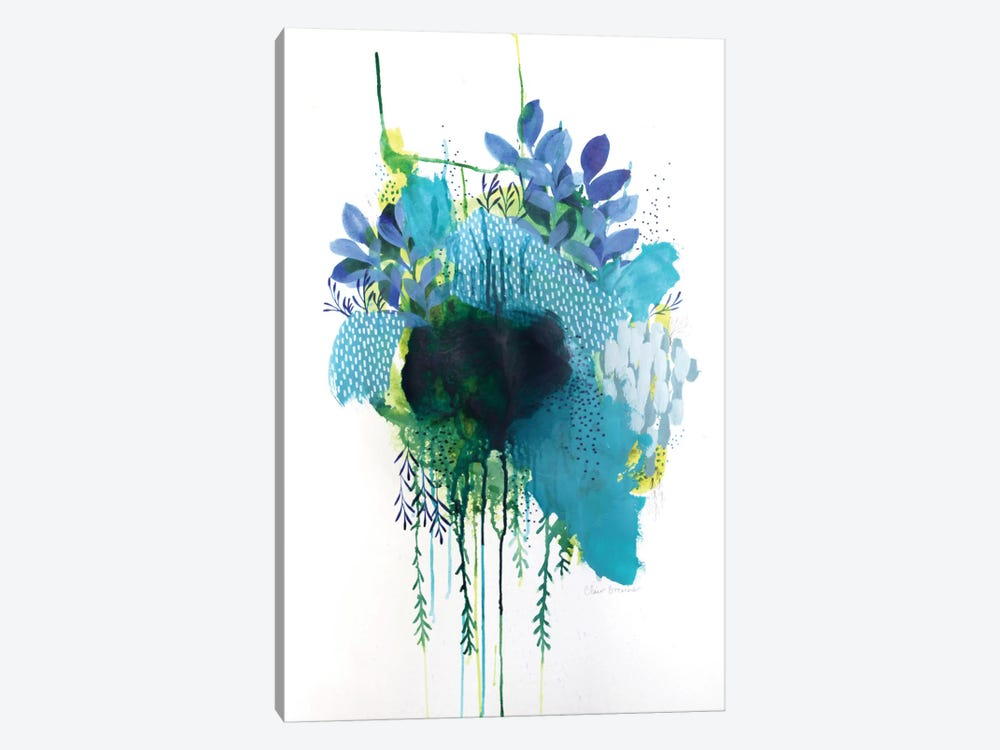 Floral Study III by Clair Bremner 1-piece Canvas Art