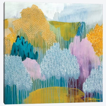Hidden Meadow Canvas Print #BRE8} by Clair Bremner Art Print