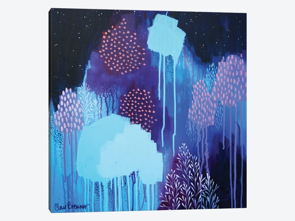 Hold Back The Night by Clair Bremner 1-piece Canvas Print