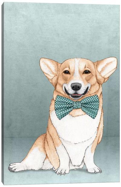 Corgi Dog Canvas Art Print