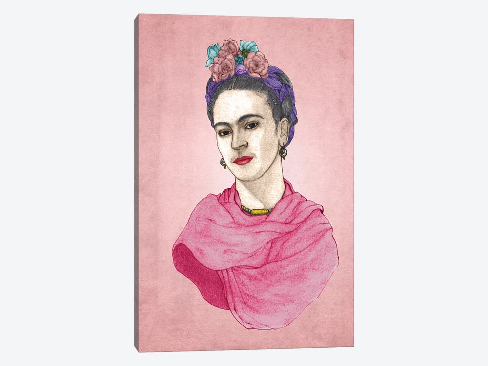 Frida by Barruf 1-piece Canvas Wall Art