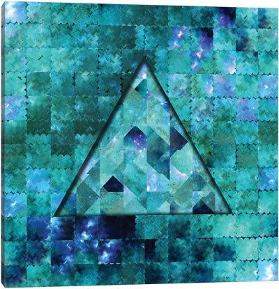 Geometric Abstract Galaxy I Canvas Art Print