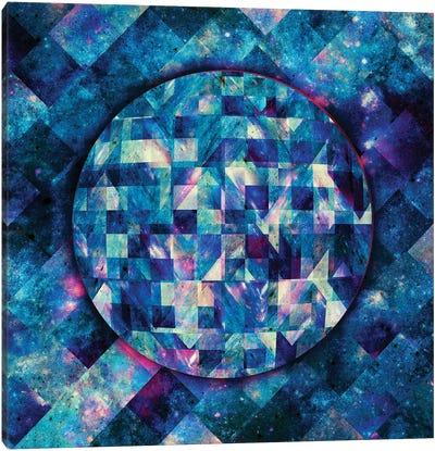 Geometric Abstract Galaxy II Canvas Art Print