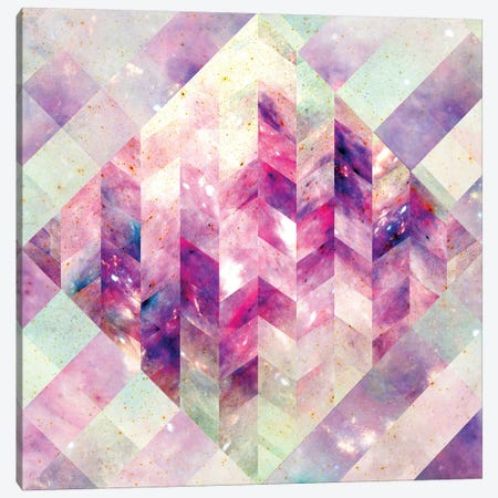 Geometric Abstract Galaxy III Canvas Print #BRF25} by Barruf Canvas Artwork