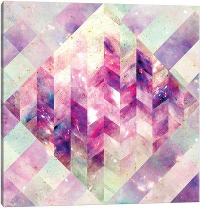 Geometric Abstract Galaxy III Canvas Art Print
