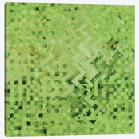 Green Galaxy Pattern Canvas Print #BRF28} by Barruf Canvas Print