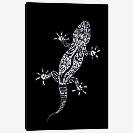 Ornate Lizard Canvas Print #BRF46} by Barruf Canvas Art
