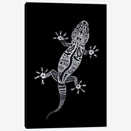 Ornate Lizard Canvas Print #BRF46} by Barruf Canvas Art