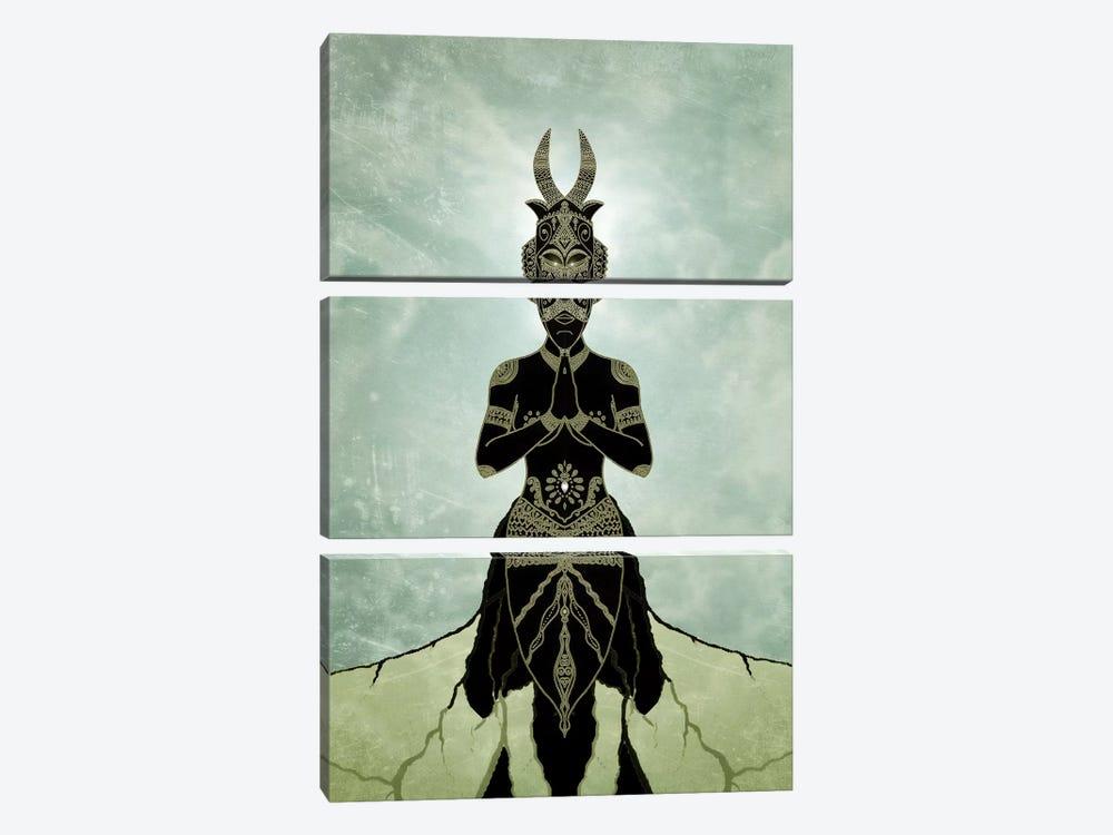 Ornate Spirituality by Barruf 3-piece Art Print