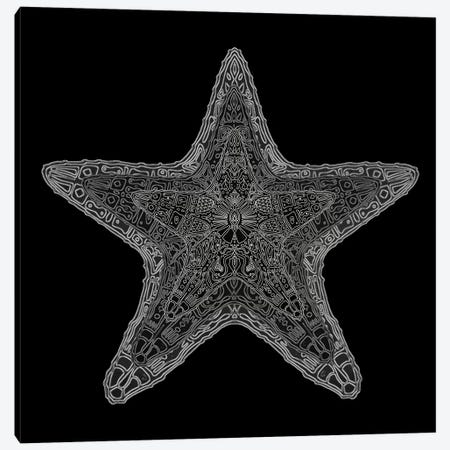 Ornate Starfish Canvas Print #BRF48} by Barruf Canvas Art Print