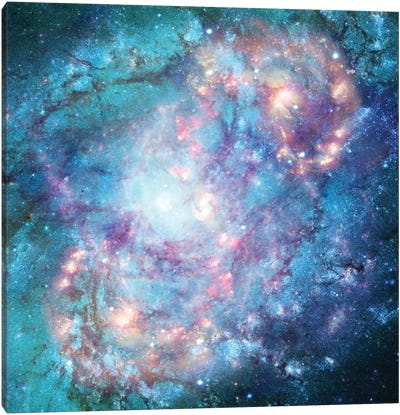 Abstract Galaxy Canvas Art Print
