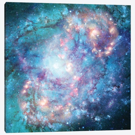 Abstract Galaxy Canvas Print #BRF4} by Barruf Canvas Print