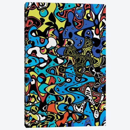 Psychedelic Renaissance II Canvas Print #BRF51} by Barruf Canvas Wall Art