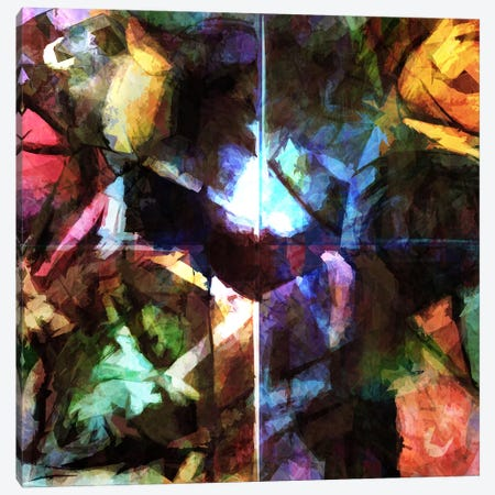 Revision Of My Blurred Memories Canvas Print #BRF54} by Barruf Canvas Print