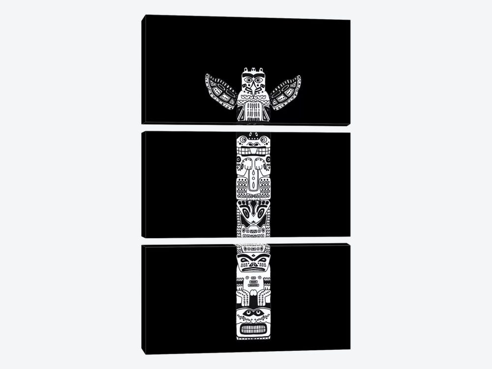 Totem by Barruf 3-piece Canvas Art