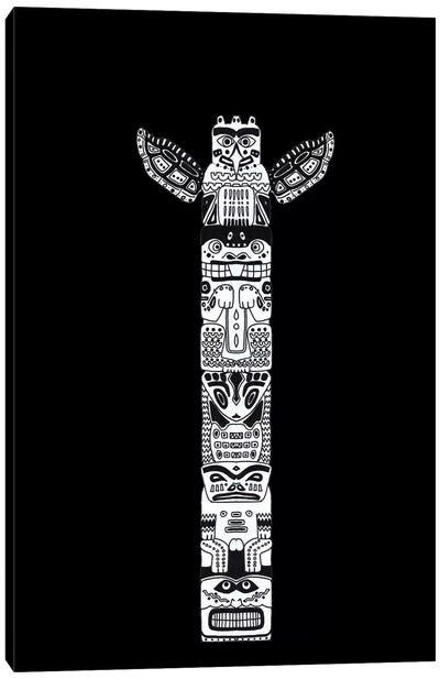 Totem Canvas Art Print