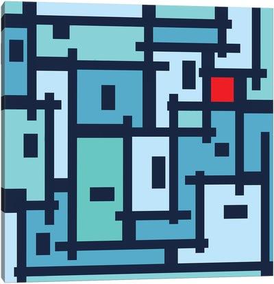 Urban Abstract For OT Canvas Art Print
