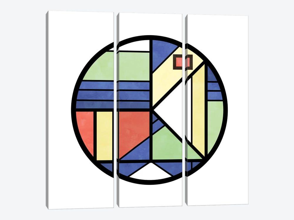 Urban Circle by Barruf 3-piece Art Print