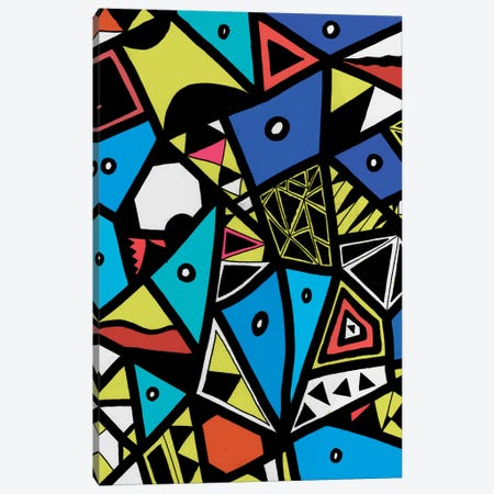 Urban Renaissance Canvas Print #BRF78} by Barruf Canvas Artwork
