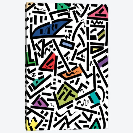 Urban Rhythm Canvas Print #BRF79} by Barruf Canvas Art
