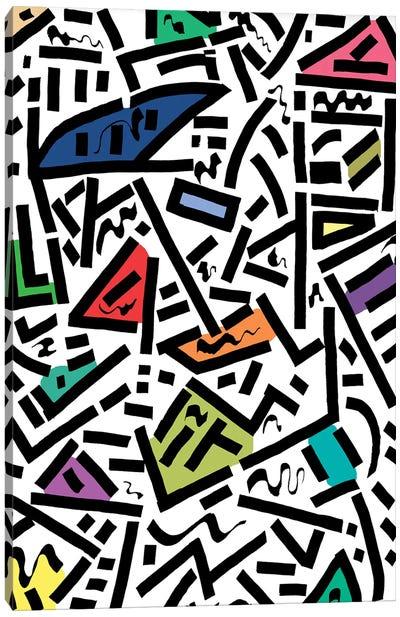 Urban Rhythm Canvas Art Print