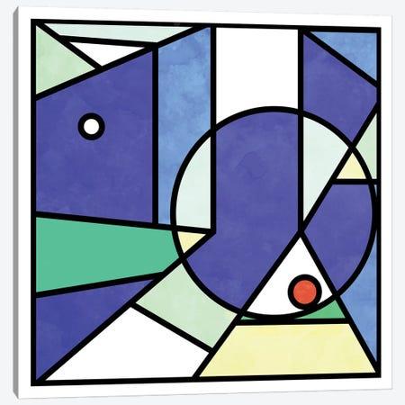 Urban Square Canvas Print #BRF80} by Barruf Canvas Art Print