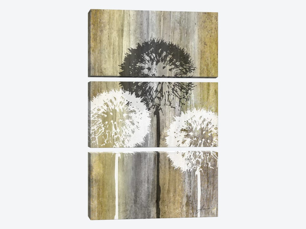 Rustic Garden II by James Burghardt 3-piece Canvas Wall Art
