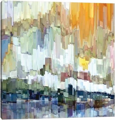 Glacier Bay II Canvas Print #BRG12
