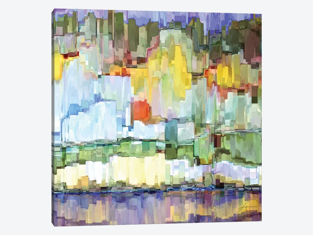Glacier Bay IV by James Burghardt 1-piece Canvas Artwork