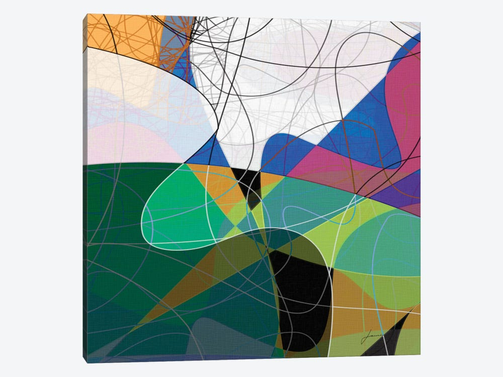 Entangled I by James Burghardt 1-piece Canvas Print