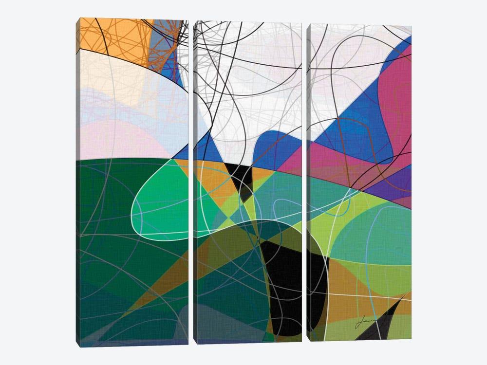 Entangled I by James Burghardt 3-piece Art Print