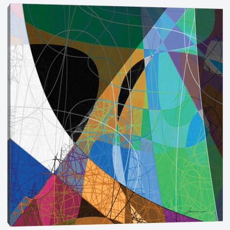Entangled II Canvas Print #BRG16} by James Burghardt Canvas Wall Art