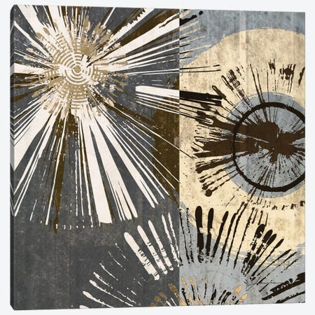 Outburst Tiles I 3-Piece Canvas #BRG1} by James Burghardt Canvas Print