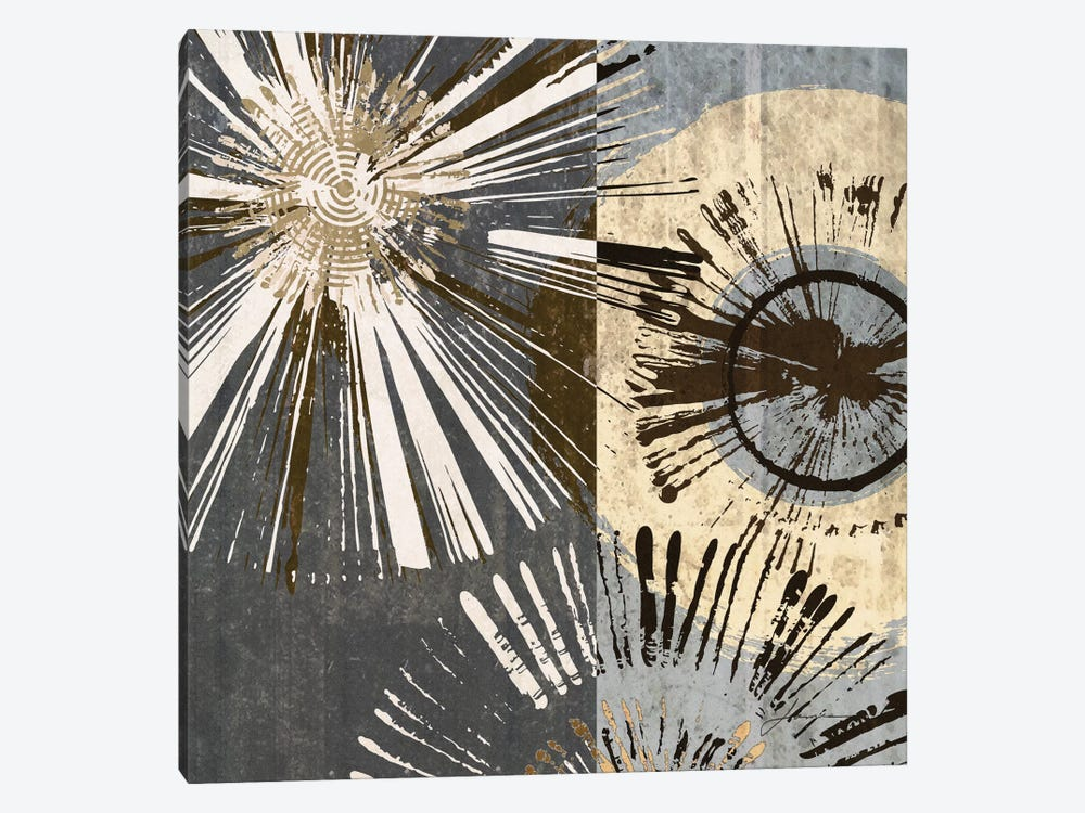 Outburst Tiles I by James Burghardt 1-piece Canvas Art Print