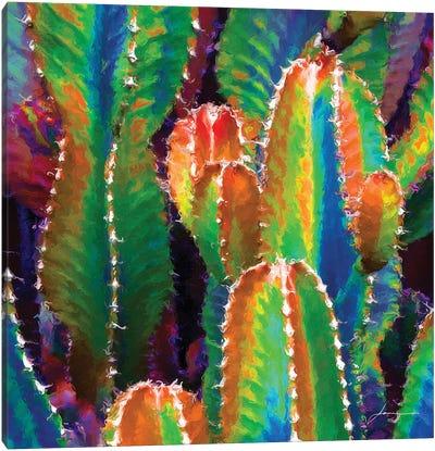 Neon Desert II Canvas Art Print