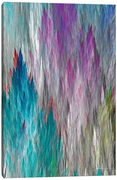 Brush Panels I Canvas Art Print