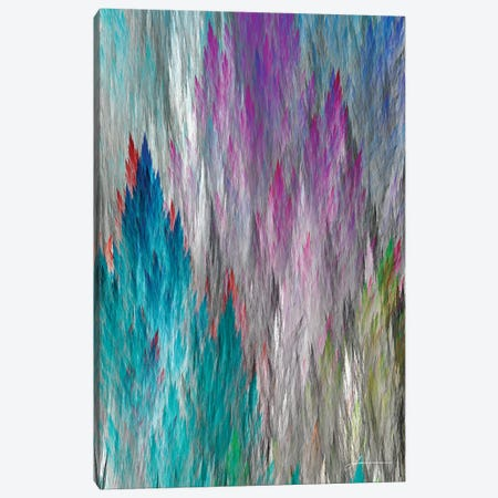 Brush Panels I Canvas Print #BRG24} by James Burghardt Art Print