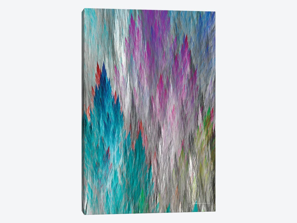 Brush Panels I 1-piece Canvas Art Print