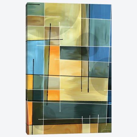 Counter Balance I 3-Piece Canvas #BRG26} by James Burghardt Art Print