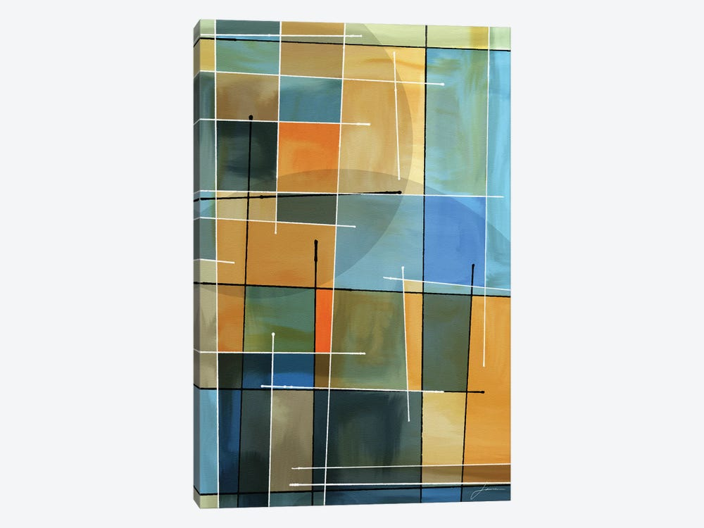 Counter Balance II by James Burghardt 1-piece Canvas Wall Art
