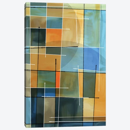 Counter Balance II 3-Piece Canvas #BRG27} by James Burghardt Canvas Print